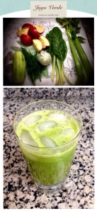 jugo verde hinojo